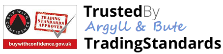 Trusted by Argyll and Bute Trading Standards - Buy with Confidence