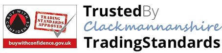 Trusted by Clackmannanshire Trading Standards - Buy with Confidence